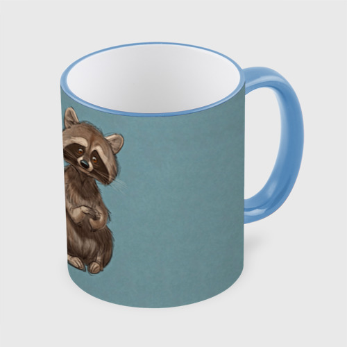 Кружка с полной запечаткой Raccoon