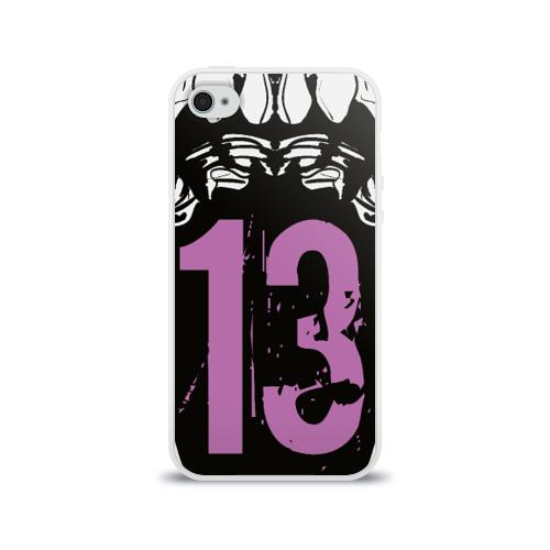 Чехол для Apple iPhone 4/4S силиконовый глянцевый  Фото 01, 13