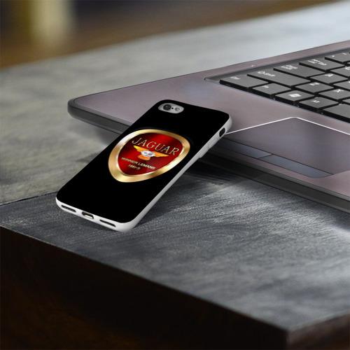 Чехол для Apple iPhone 8 силиконовый глянцевый  Фото 03, Jaguar