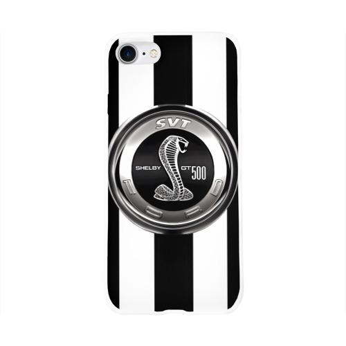 Чехол для Apple iPhone 8 силиконовый глянцевый  Фото 01, Ford