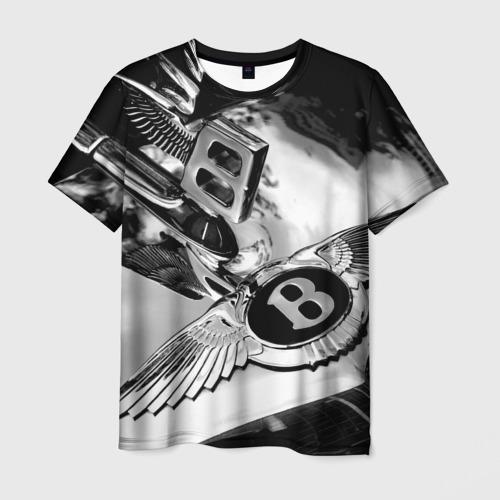 Мужская футболка 3D Bentley