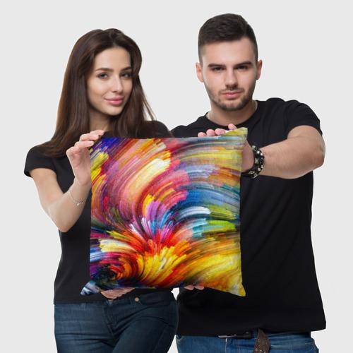 Подушка 3D  Фото 05, Яркие краски