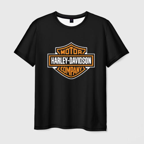 Мужская футболка 3D Harley-Davidson