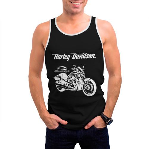 Мужская майка 3D  Фото 03, Harley-Davidson