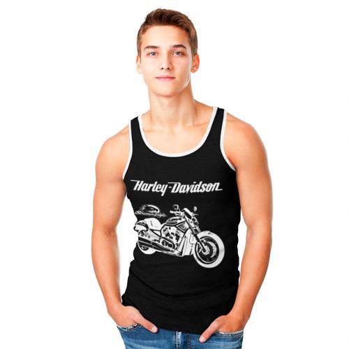 Мужская майка 3D  Фото 05, Harley-Davidson