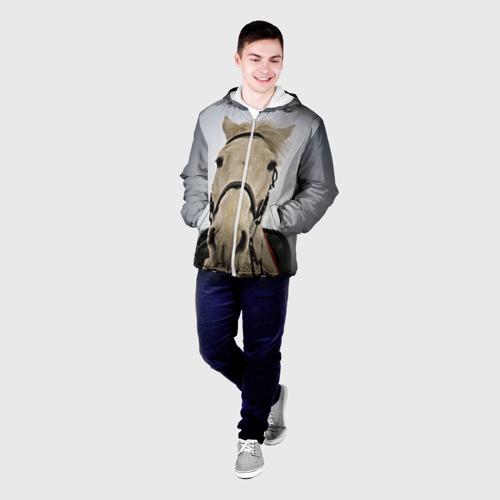 Мужская куртка 3D  Фото 03, Horse