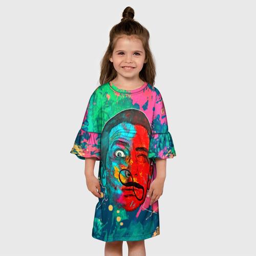 Детское платье 3D  Фото 01, Сальвадор Дали