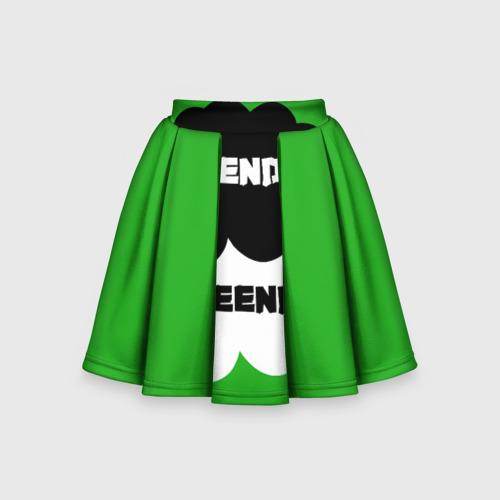 Детская юбка-солнце 3D Green day
