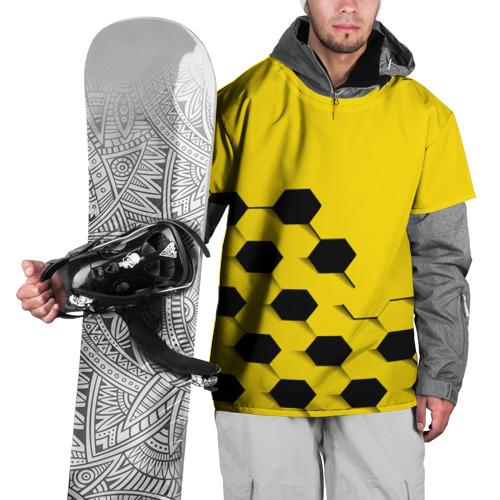 Накидка на куртку 3D  Фото 01, Футбольные текстуры