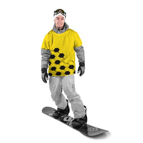 Накидка на куртку 3D  Фото 03, Футбольные текстуры