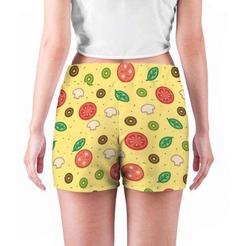 Женские шорты 3D  Фото 04, Pizza