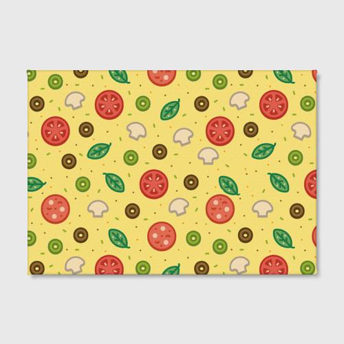 Холст прямоугольный  Фото 02, Pizza