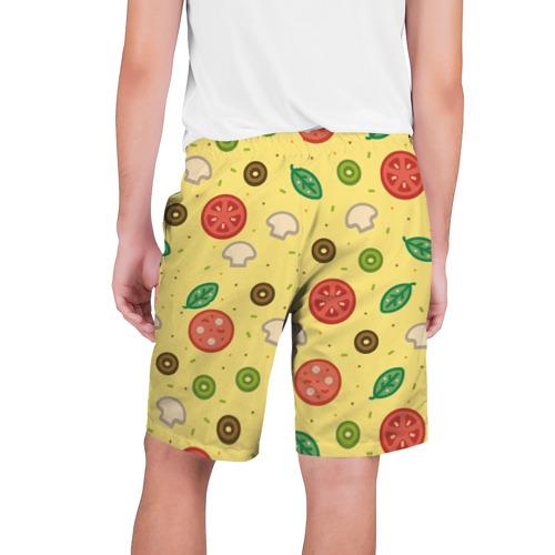 Мужские шорты 3D  Фото 02, Pizza