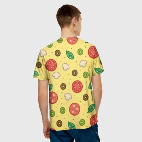 Мужская футболка 3D  Фото 02, Pizza