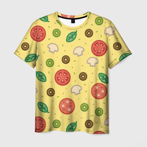 Мужская футболка 3D  Фото 03, Pizza
