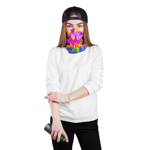 Бандана-труба 3D  Фото 02, Разноцвет