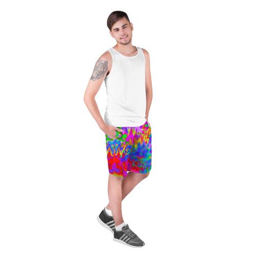 Мужские шорты 3D  Фото 03, Разноцвет
