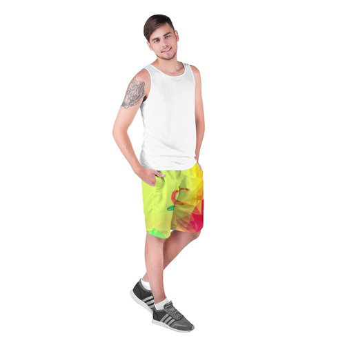 Мужские шорты 3D  Фото 03, Гимнастика
