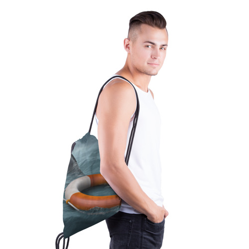 Рюкзак-мешок 3D  Фото 03, Акула