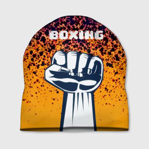 Шапка 3D Boxing