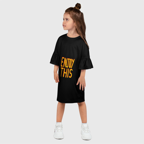 Детское платье 3D  Фото 03, Наслаждайся