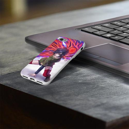Чехол для Apple iPhone 8 силиконовый глянцевый  Фото 03, Токийский Гуль