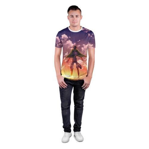 Мужская футболка 3D спортивная  Фото 04, Legion