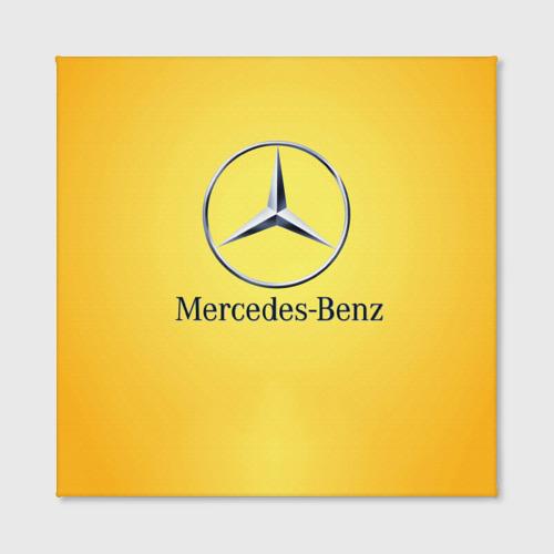 Холст квадратный Yellow Benz Фото 01
