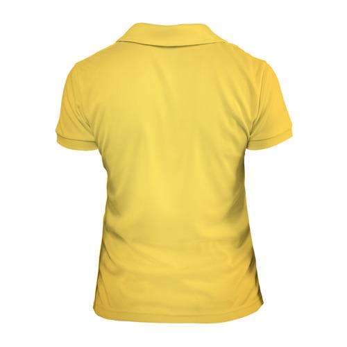 Женская рубашка поло 3D Yellow Benz Фото 01