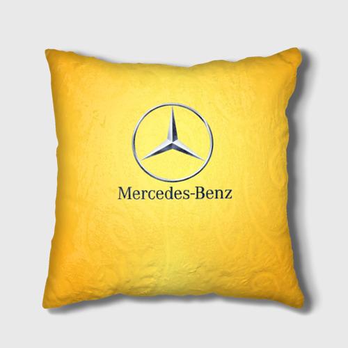 Подушка 3D Yellow Benz Фото 01