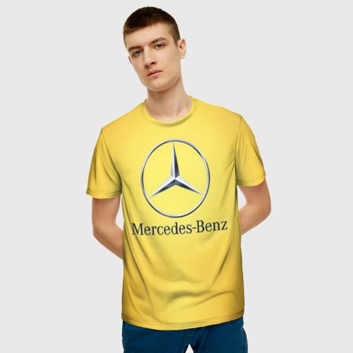 Мужская футболка 3D  Фото 03, Yellow Benz