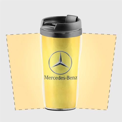 Термокружка-непроливайка Yellow Benz Фото 01