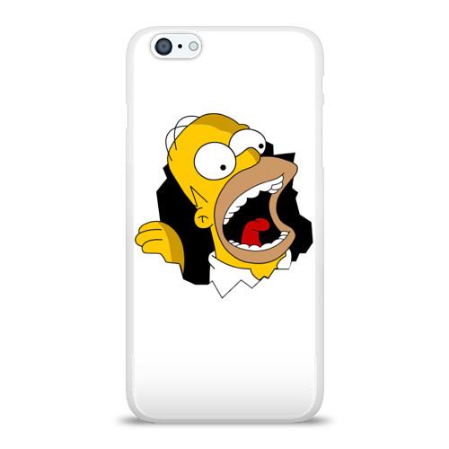 Чехол для Apple iPhone 6Plus/6SPlus силиконовый глянцевый  Фото 01, The Simpsons