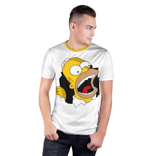 Мужская футболка 3D спортивная  Фото 03, The Simpsons