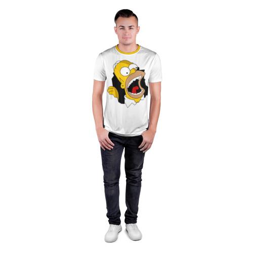 Мужская футболка 3D спортивная  Фото 04, The Simpsons
