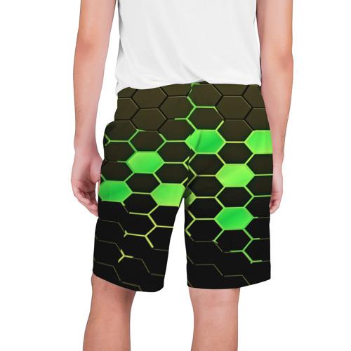 Мужские шорты 3D  Фото 02, Кислотные соты