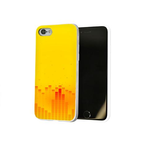 Чехол для Apple iPhone 8 силиконовый глянцевый  Фото 02, Эквалайзер звука