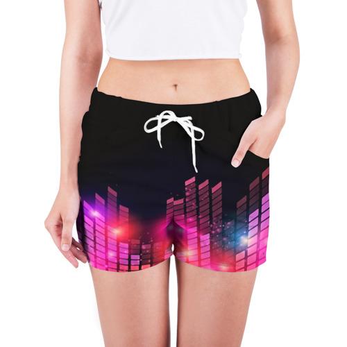 Женские шорты 3D  Фото 03, Equalizer light