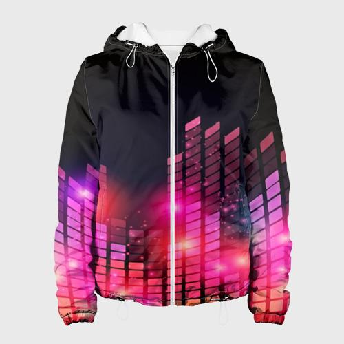 Женская куртка 3D  Фото 01, Equalizer light