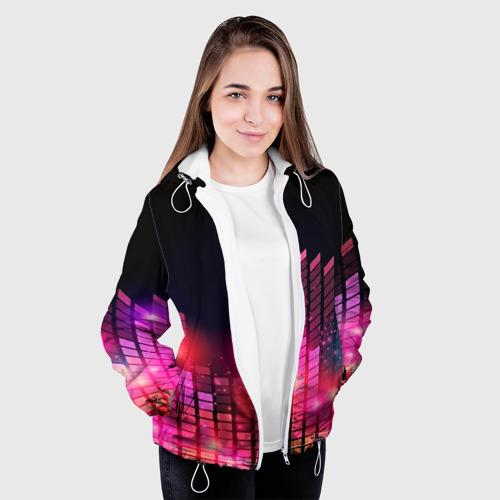 Женская куртка 3D  Фото 04, Equalizer light
