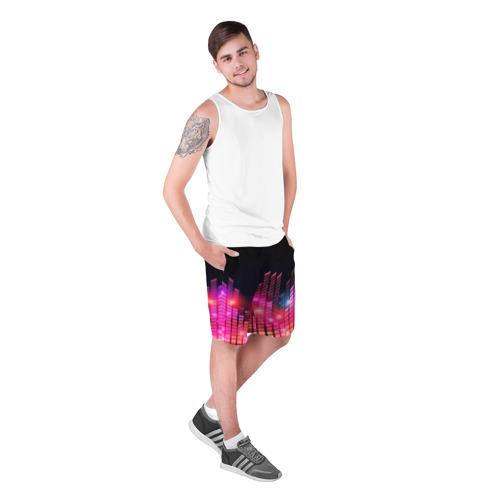 Мужские шорты 3D  Фото 03, Equalizer light