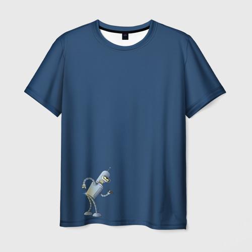 Мужская футболка 3D bender F