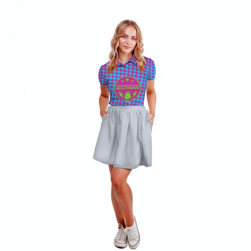 Женская рубашка поло 3D  Фото 04, Тренировка