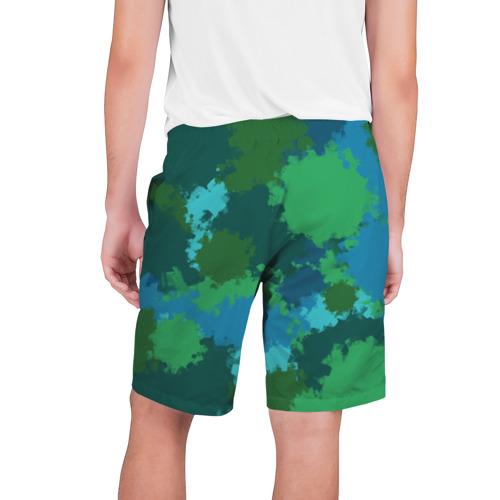 Мужские шорты 3D  Фото 02, Камуфляжные кляксы