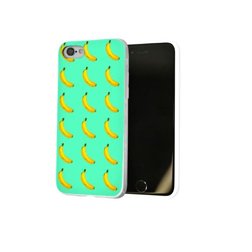 Чехол для Apple iPhone 8 силиконовый глянцевый  Фото 02, Banana