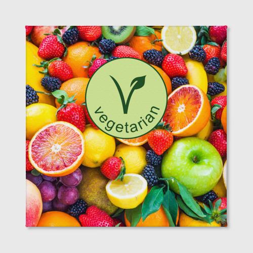 Холст квадратный  Фото 02, Vegetarian