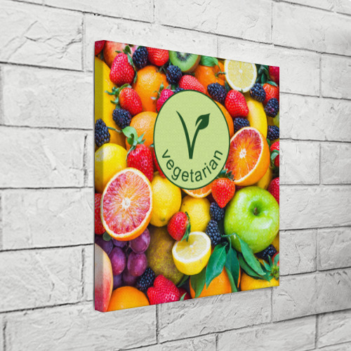 Холст квадратный  Фото 03, Vegetarian