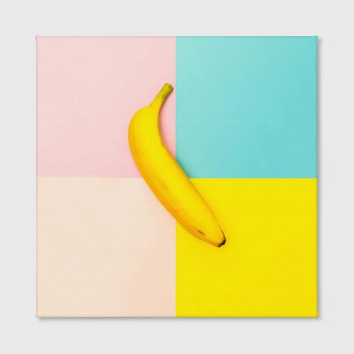 Холст квадратный  Фото 02, Banana