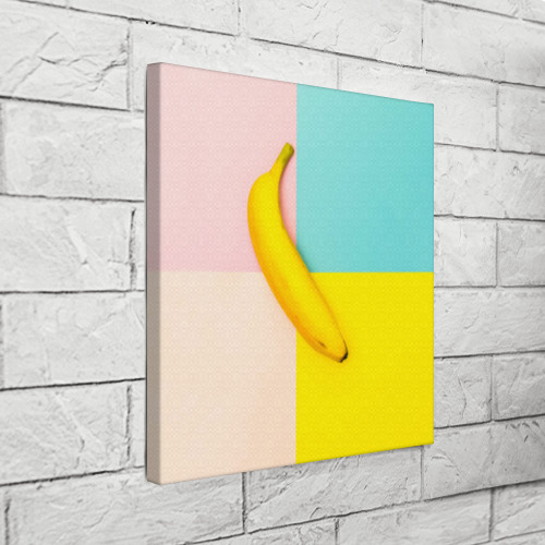 Холст квадратный  Фото 03, Banana