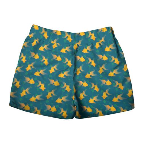 Женские шорты 3D  Фото 02, Золотые рыбки